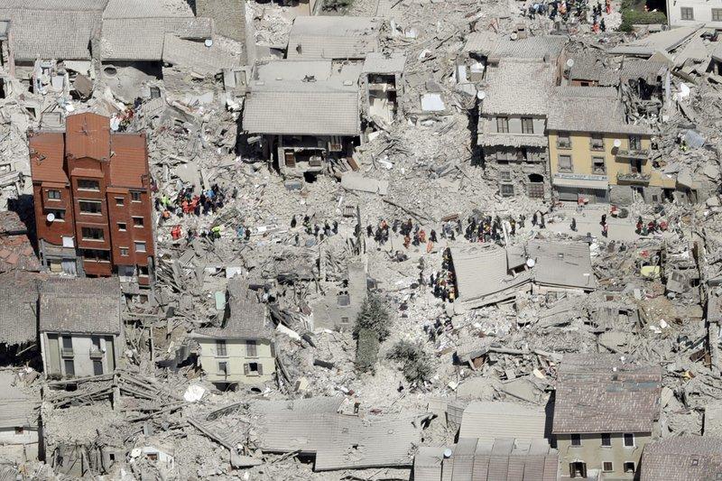 Quake Hit Italian Town Files Complaint Over Cartoon Satire