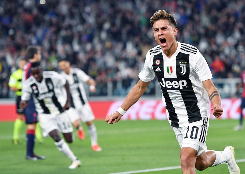 ef4af577f3b Dybala breaks drought to help Juventus beat Bologna 2-0