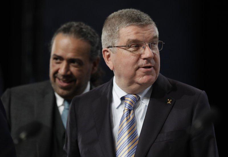 Ahmad Fahad Al Sabah, Thomas Bach