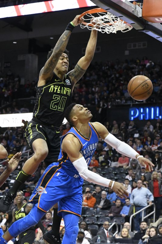 John Collins, Russell Westbrook