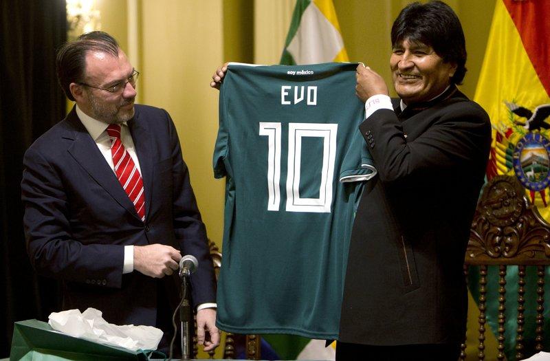 Evo Morales, Luis Videgaray