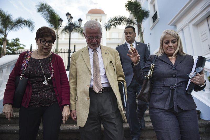 Hector Pesquera, Wanda Vazquez, Rosa Emilia Rodriguez