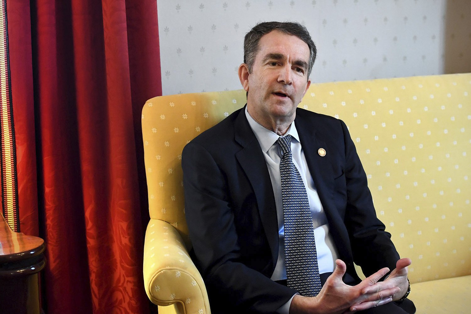 The Latest: Black caucus willing to meet with Northam