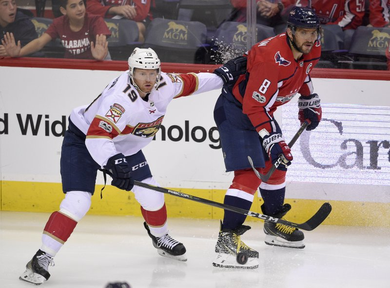 Alex Ovechkin, Mike Matheson