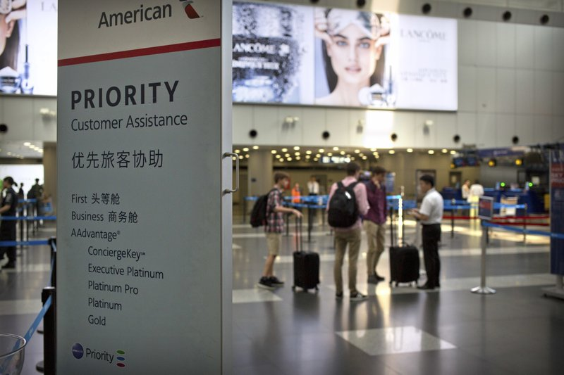 China says 4 American airlines missed Taiwan deadline