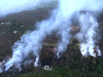 15 Vents Spouting Lava From Hawaii Volcano