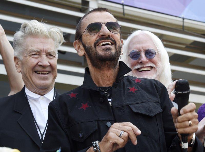 Ringo Starr, David Lynch, Edgar Winter