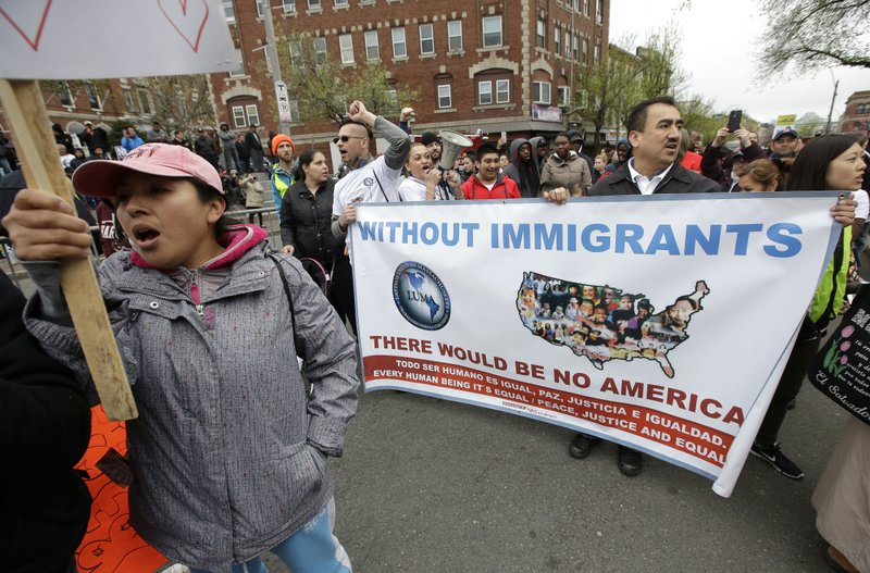 Image result for photos of immigration rallies