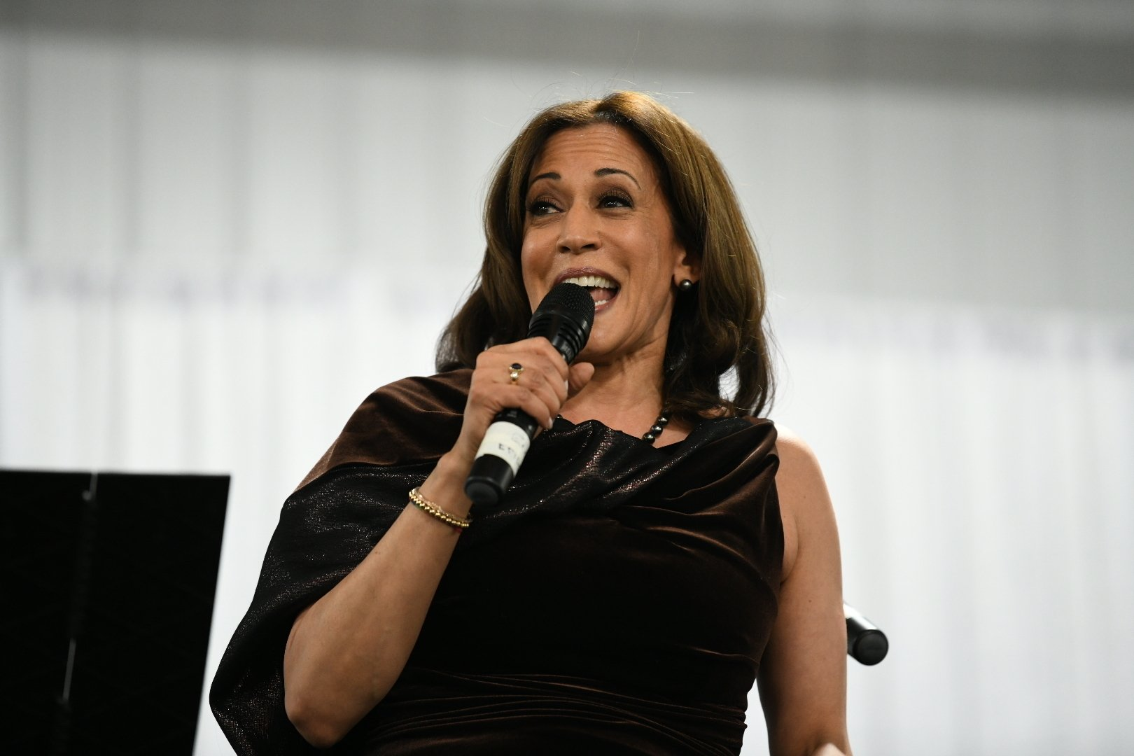 Tapping into sorority network, Kamala Harris returns to SC