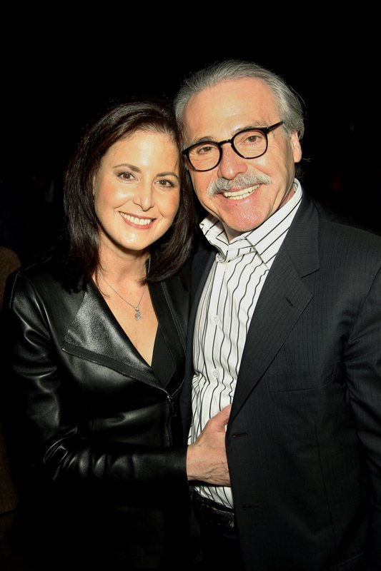 David Pecker, Karen Pecker, Shape & Men's Fitness Super Bowl Party, New York, America - 31 Jan 2014