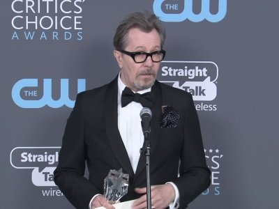 Oldman's Critics' Choice win: 'It's no hardship'
