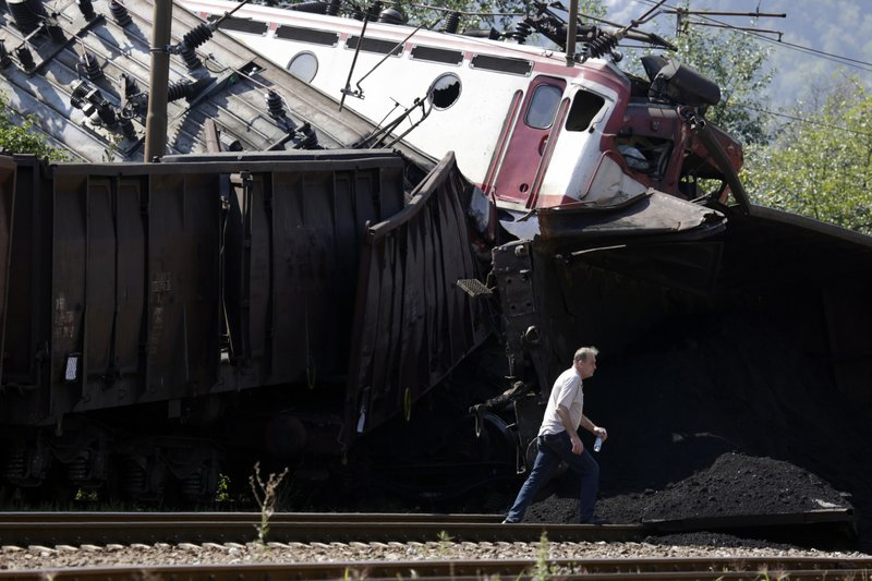 Bosnia Train Collision