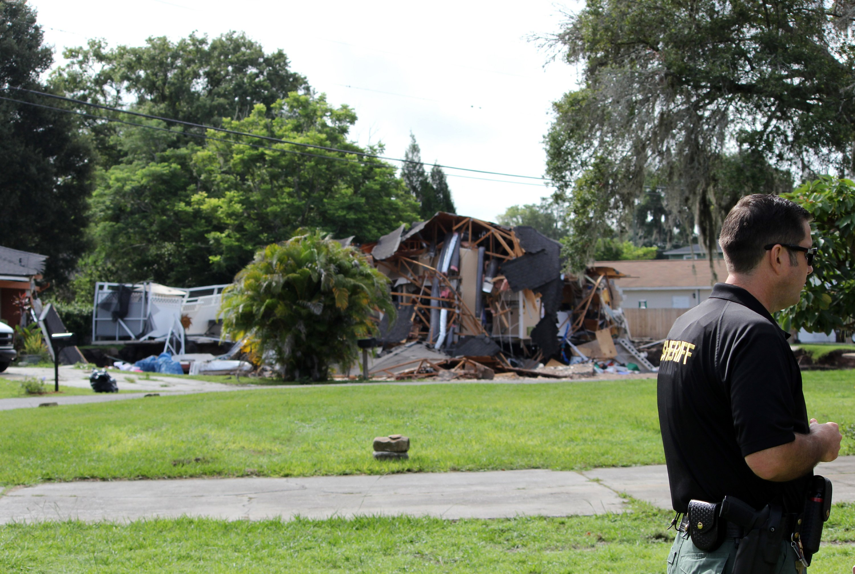 The Latest 3rd Home Threatened By Growing Florida Sinkhole