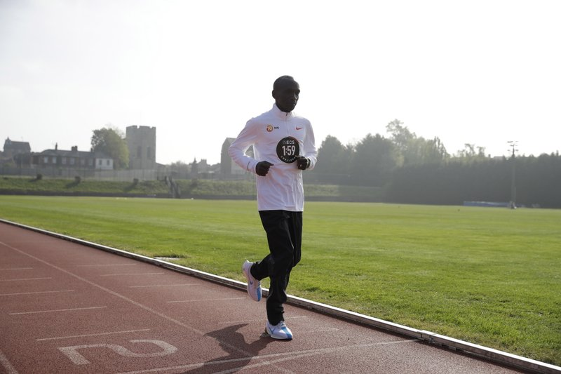 8b0d1a00e7e53 Kipchoge targets London for attempt at sub 2-hour marathon
