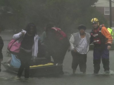 New Bern residents rescued as floodwaters rise