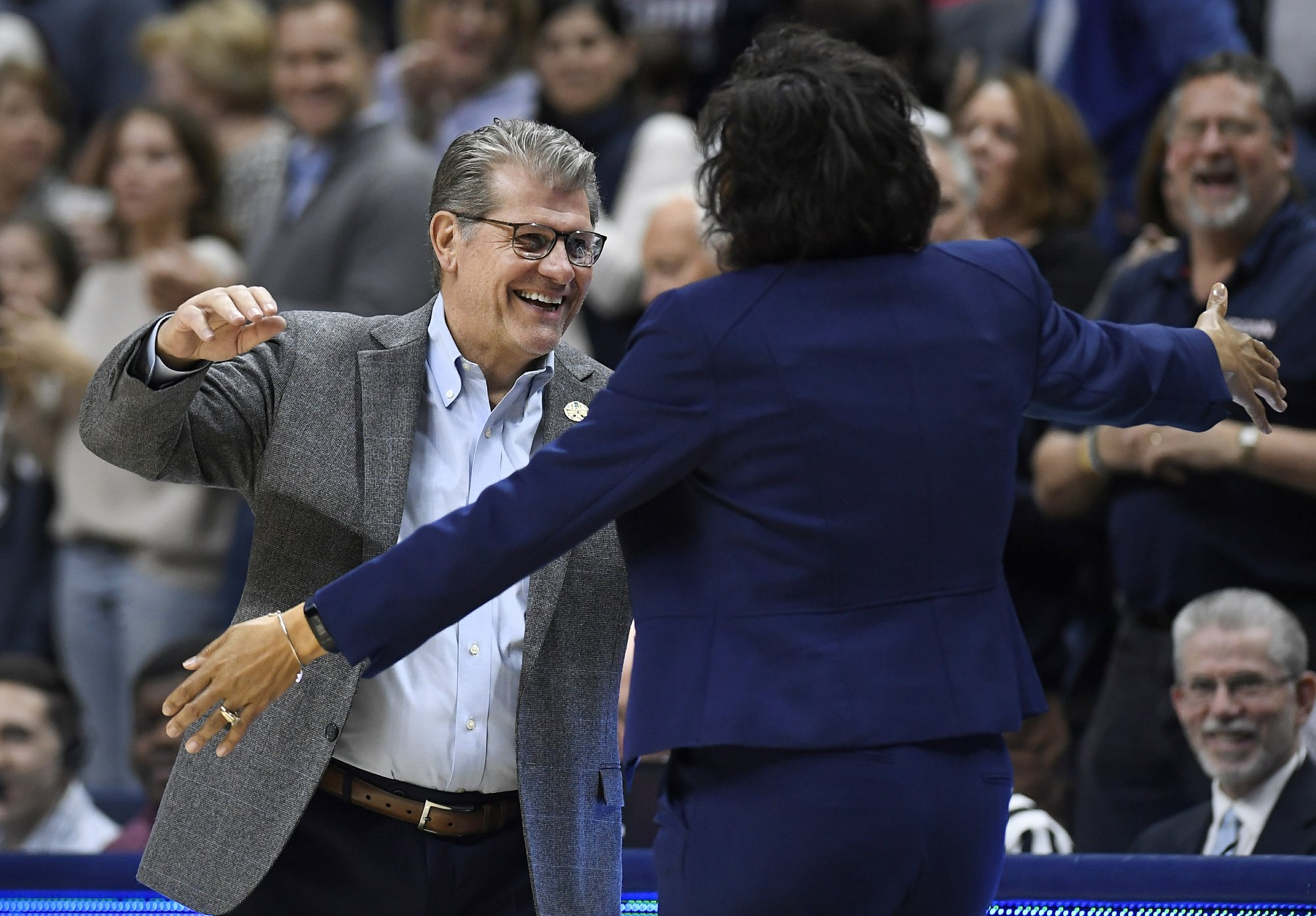 Half the Sweet 16 is set in women's NCAA Tournament