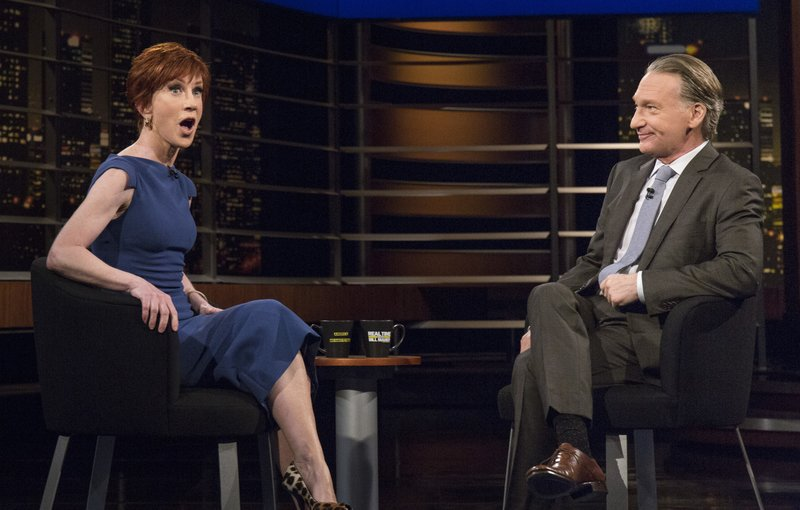 Kathy Griffin, Bill Maher