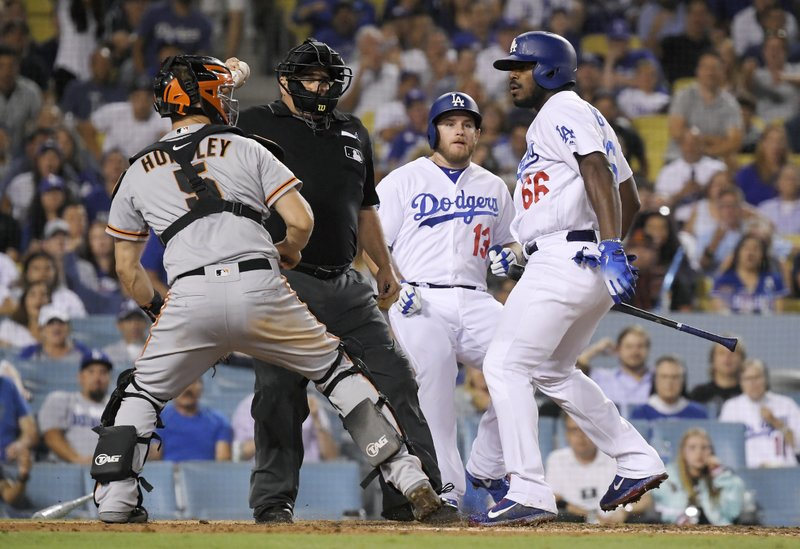 pretty nice bf377 b03fd Dodgers' Yasiel Puig appealing 2-game suspension