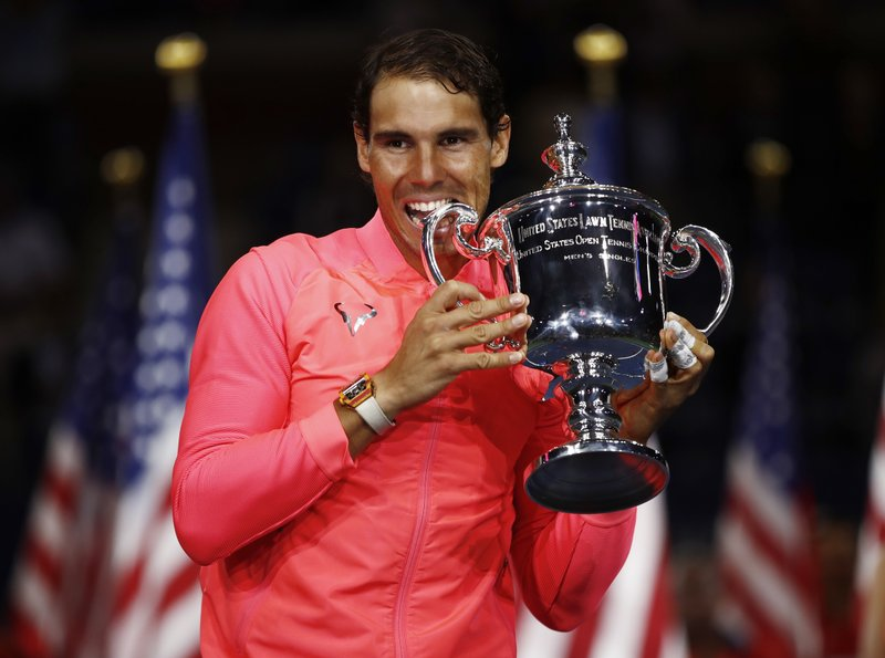 Sweet 16 After 2 Rough Years Nadal Back On Top At Us Open