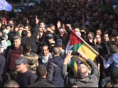 Raw: West Bank Protests Over US Jerusalem Policy