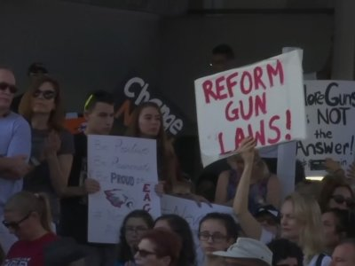 Hundreds Rally Against Gun Laws in Fort Lauderdale
