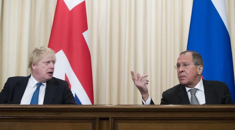Sergey Lavrov, Boris Johnson