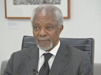 Annan Worried By Trump's Go-It-Alone Policies