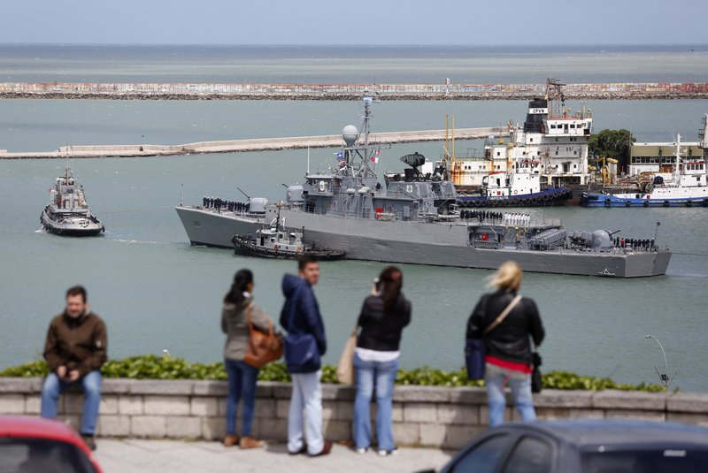 AP Explains: The search for Argentina's missing submarine