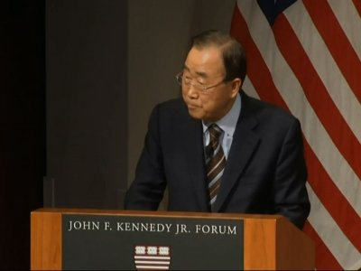 Ban Ki-moon: Korean Peninsula Tension 'Alarming'