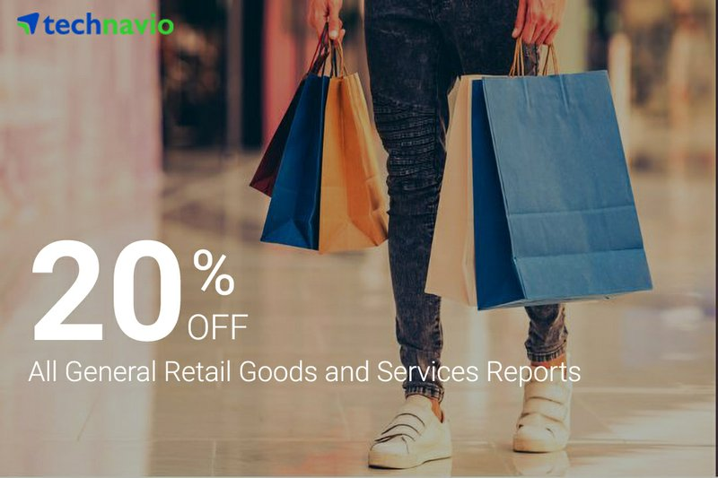 Technavio Announces Exciting Offers on Retail Goods and Services Portfolio