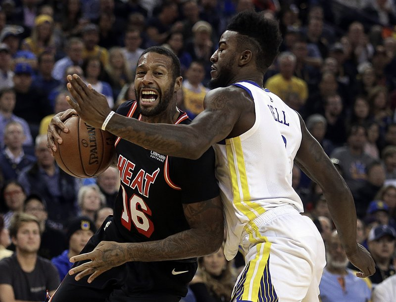 Jordan Bell, James Johnson