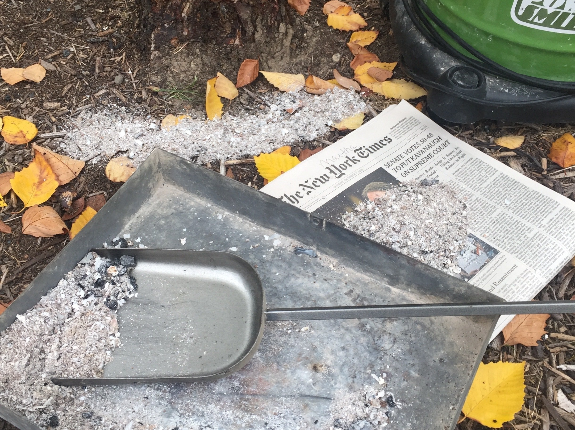 Wood Ash From Fireplaces Stoves Can Sometimes Help The Soil