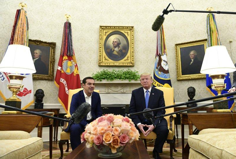 Donald Trump, Alexis Tsipras