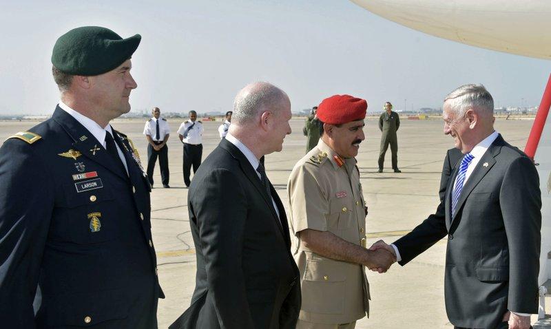 Jim Mattis, Saleh bin Ahmed al-Hinai