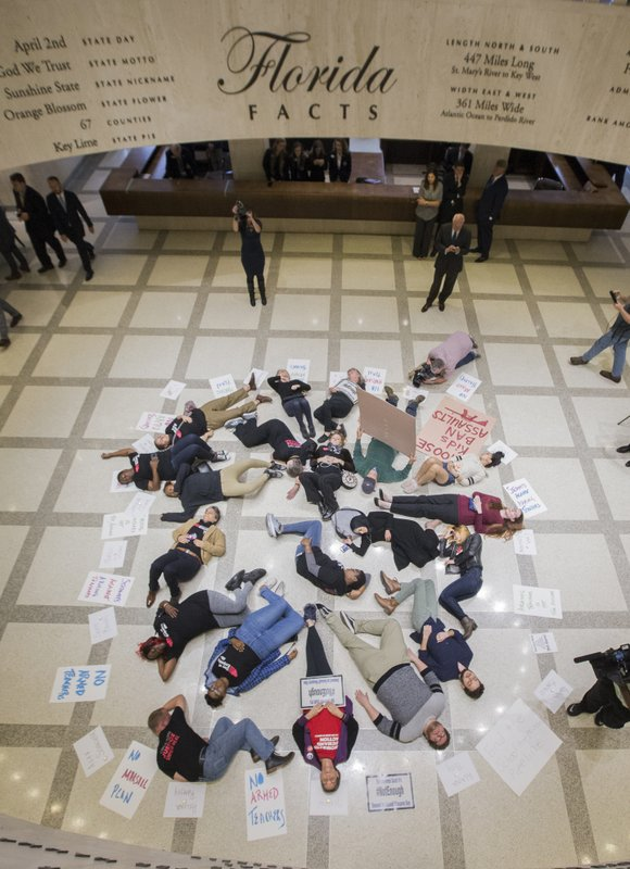Florida Capitol Die-in