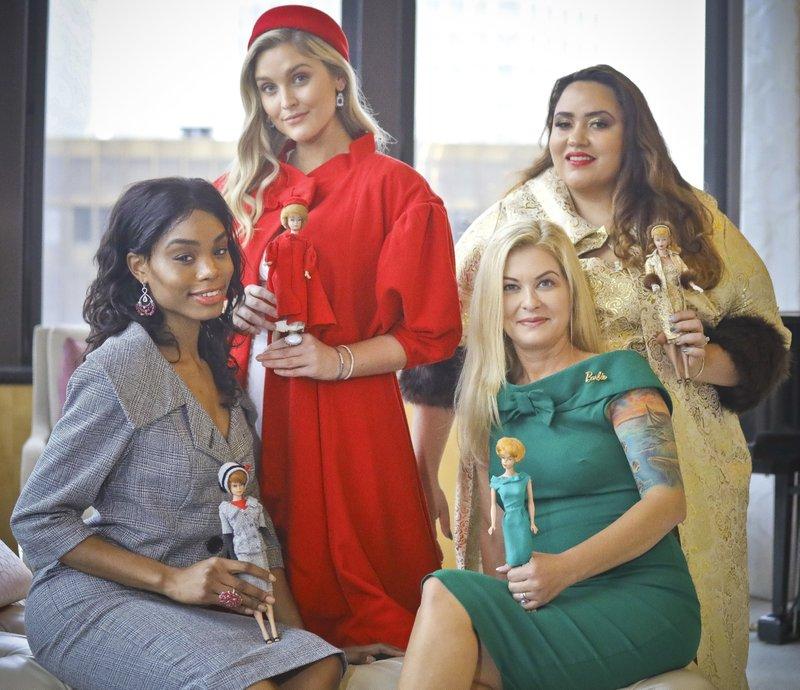 5def9e42fd4 Iconic Barbie fashion comes alive in vintage collaboration