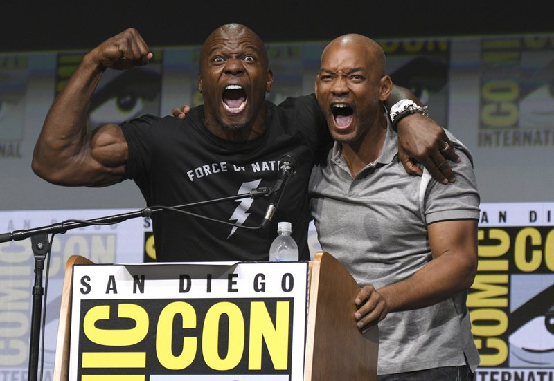 Terry Crews, Will Smith