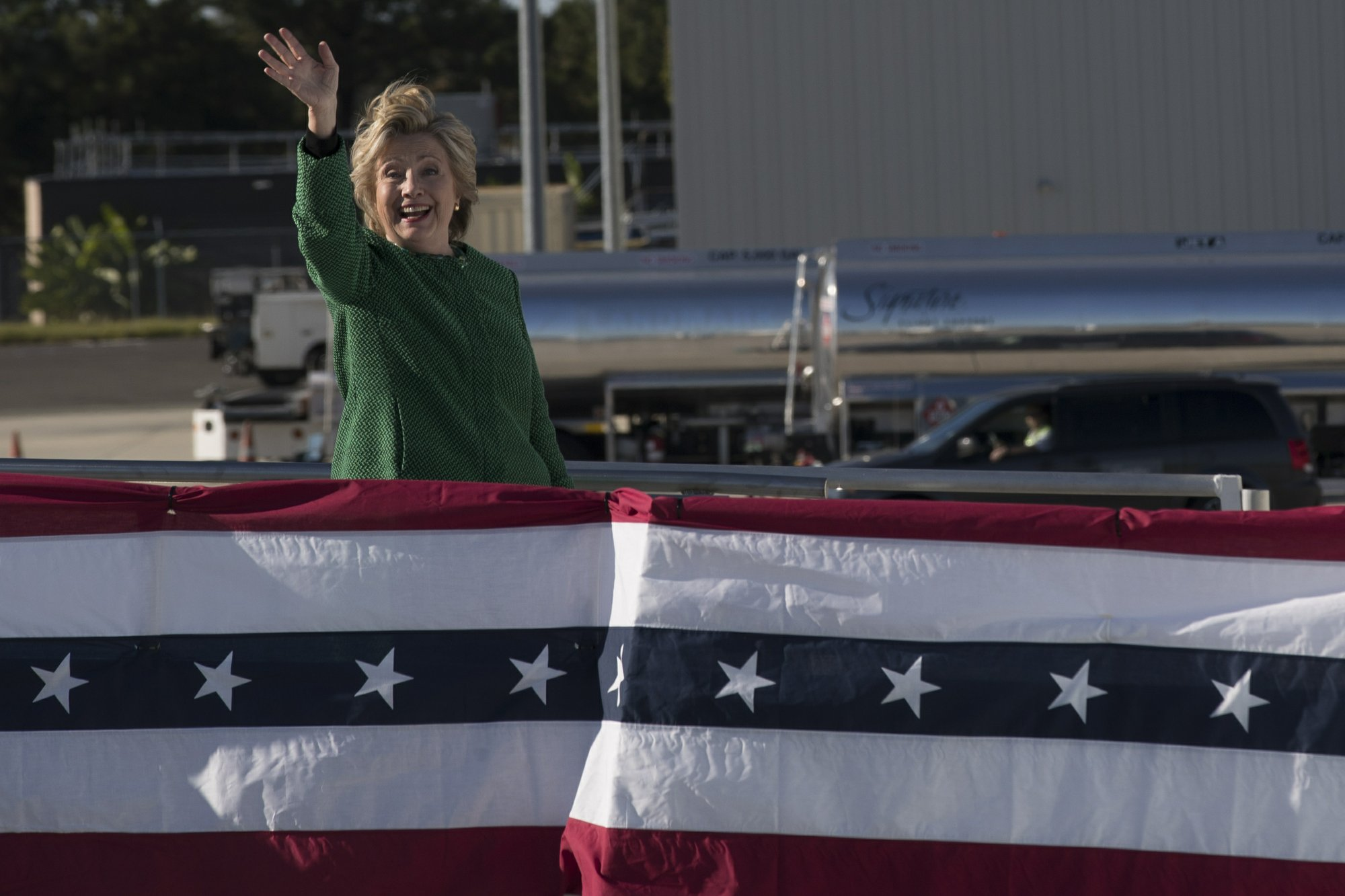 Clinton aides suggested email jokes, say hacked messages