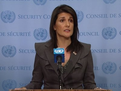 Haley: UN Must Address N. Korea, Iran In 2018
