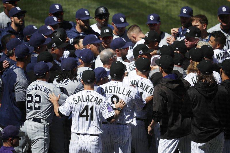 Colorado Rockies, San Diego Padres