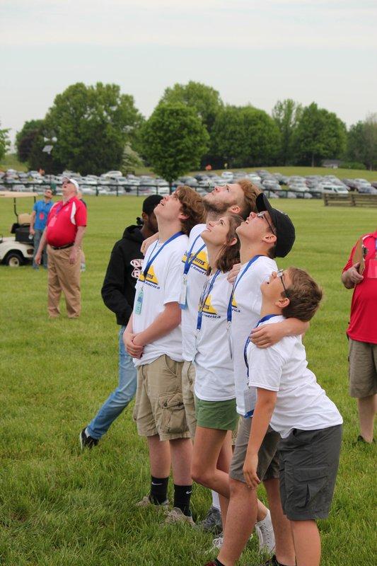 ADDING MULTIMEDIA Georgia Students Crowned America's Top Teen Rocket Scientists