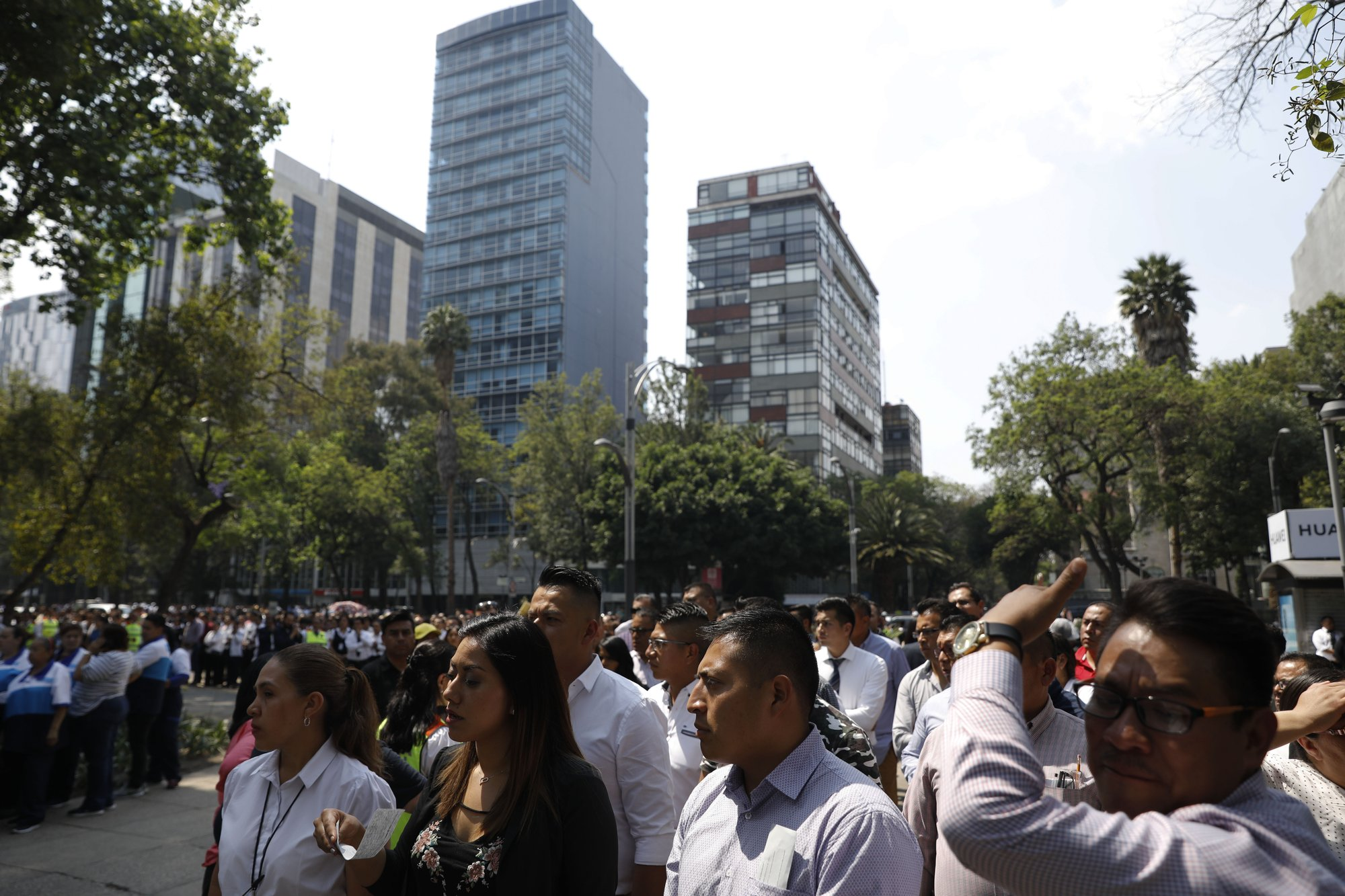 Quake sways buildings in Mexico City; some evacuations