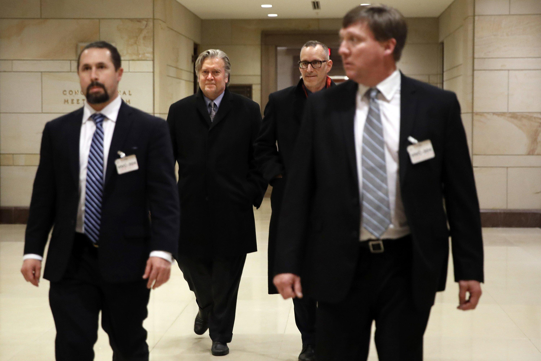 WH involvement in Bannon testimony shows 'privilege' dispute