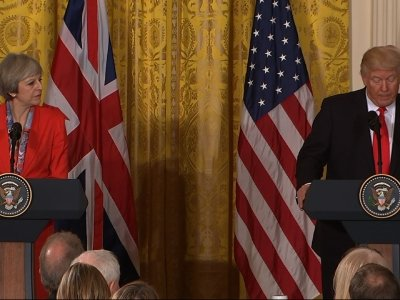 Trump to UK PM: 'We Have One of the Great Bonds'