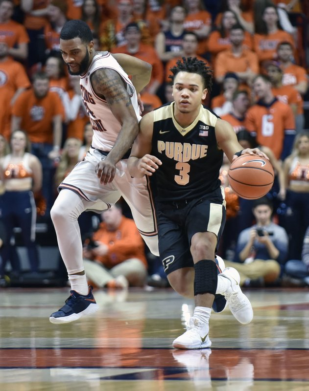 Carsen Edwards, Mark Alstork