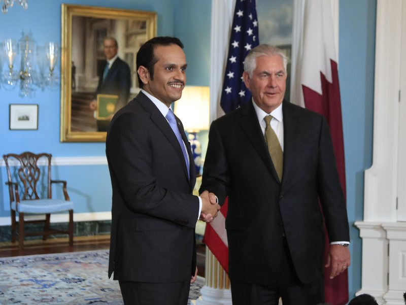 Rex Tillerson, Sheikh Mohammed bin Abdulrahman Al Thani