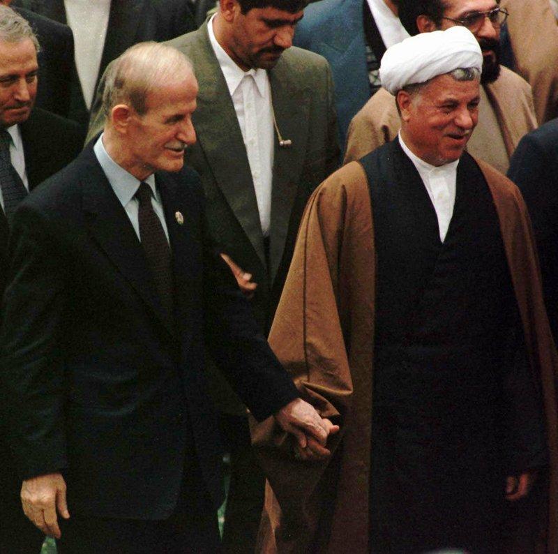 Hafez Assad, Akbar Hashemi Rafsanjani