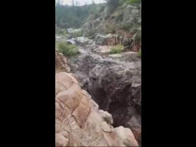 Raw: Deadly Flash Floods Hit Ariz. Swimming Hole