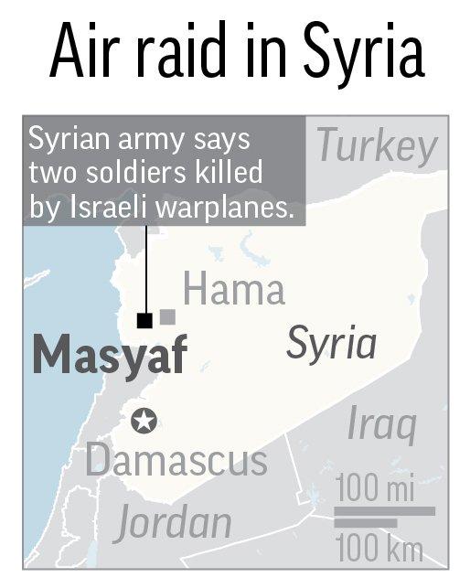 SYRIA AIR RAID
