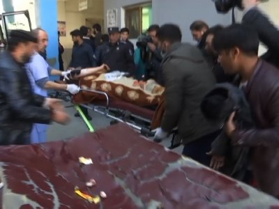 Raw: Dozens Dead in Afghanistan Attack